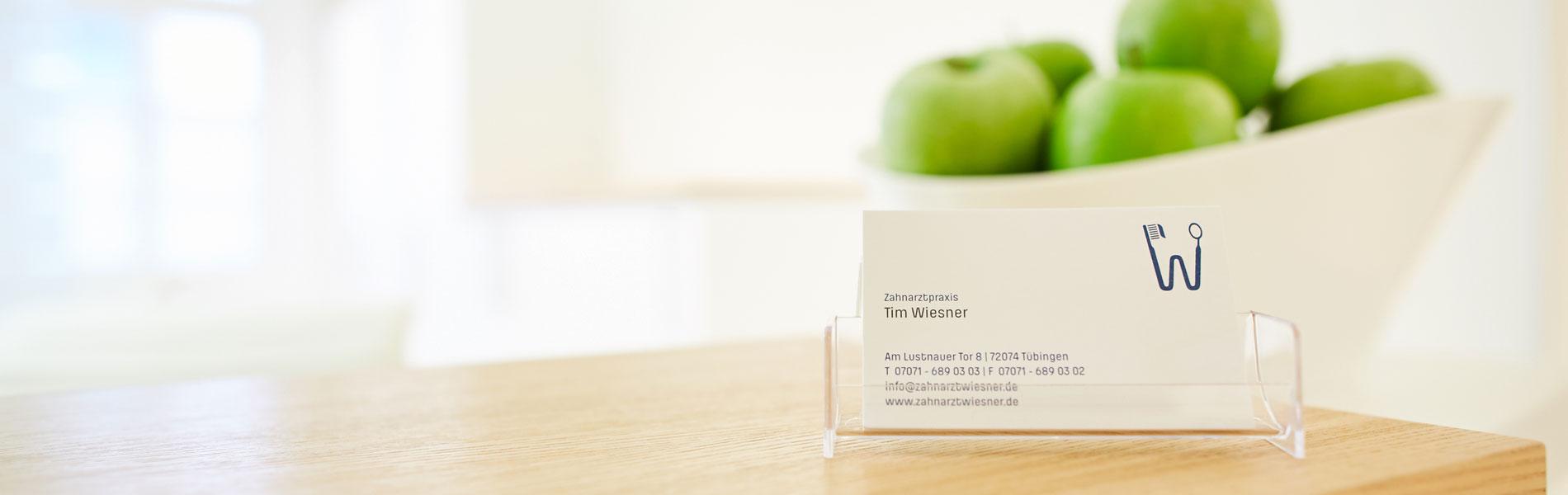 Zahnarztpraxis Dr. Wiesner - Kontakt 1