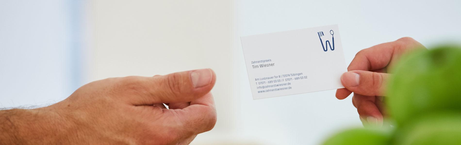 Zahnarztpraxis Dr. Wiesner - Kontakt 2